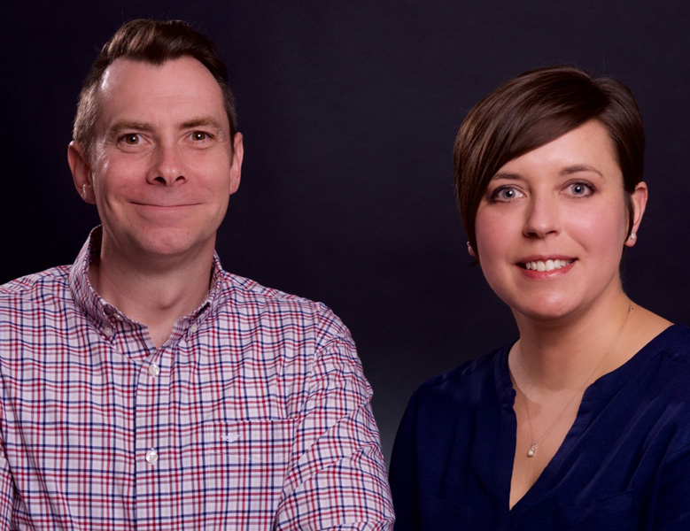 Sarah Anderson and Neal Sheehan